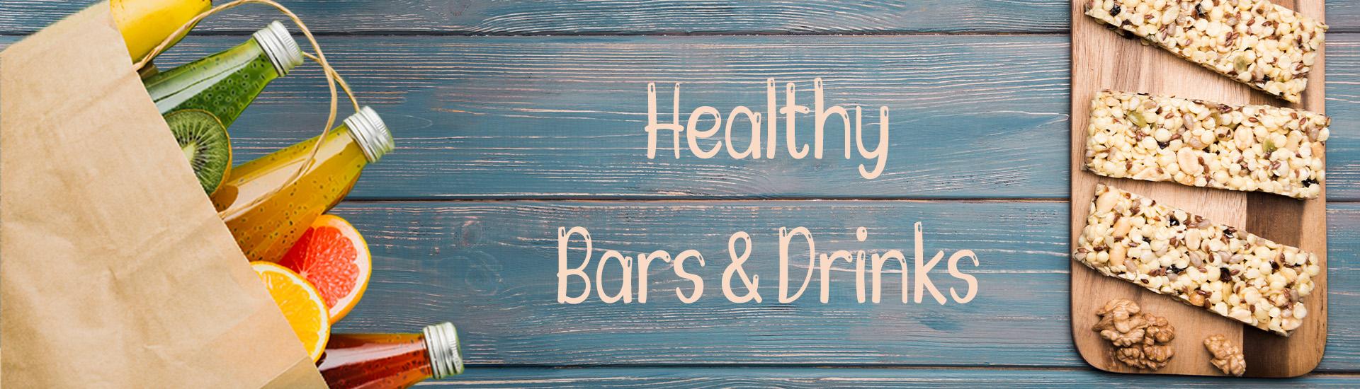 Υγιεινές μπάρες & ροφήματα