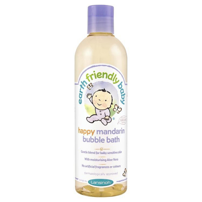 Earth Friendly Baby, Happy Mandarin Bubble Bath, 300ml