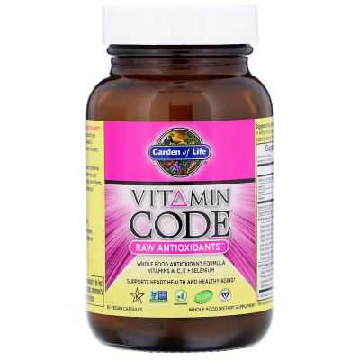 Garden of Life, Vitamin Code RAW Antioxidants, 30 vcaps