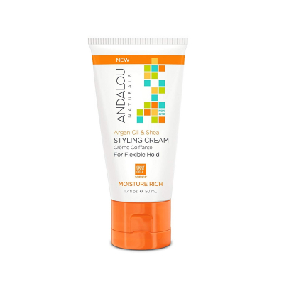 Andalou Naturals, Styling Cream, Argan Oil and Shea, Moisture Rich, 50ml