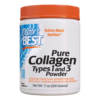Doctor's Best, Κολλαγόνο, Τύπου 1 & 3 Σκόνη, 7.1 oz (200 g)