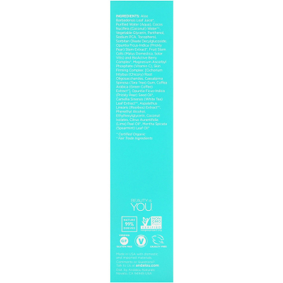 Andalou Naturals, Coconut Water Firming Toner, Quenching, 6 fl oz (178 ml)
