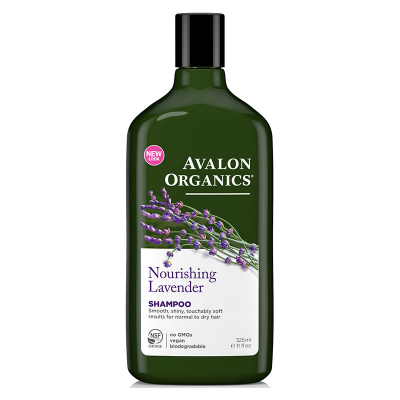 Avalon Organics, Shampoo, Nourishing, Lavender, 11 fl oz (325 ml)