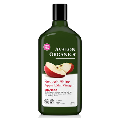 Avalon Organics, Shampoo, Smooth Shine, Apple Cider Vinegar, 11 fl oz (325 ml)