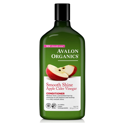 Avalon Organics, Conditioner, Smooth Shine, Apple Cider Vinegar, 11 oz (312 g)