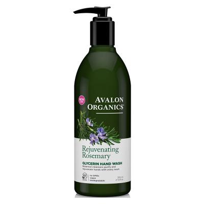Avalon Organics, Glycerin Hand Soap, Rejuvenating Rosemary, 12 fl oz (355 ml)