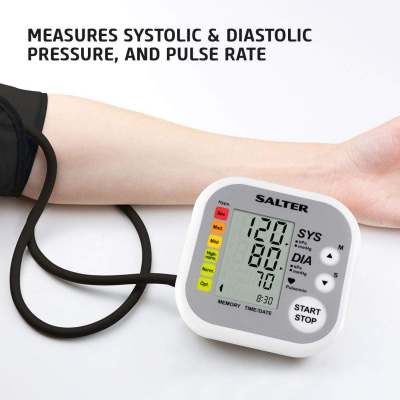 Salter, Automatic Arm Blood Preasure Monitor