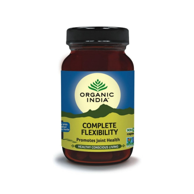 Organic India, Complete Flexibility 90 Capsules Bottle