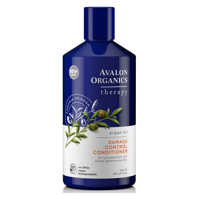 Avalon Organics, Therapy, Argan Oil, Damage Control Conditioner, Argania Spinosa, 14 oz (397 g)