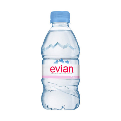 Evian Mineral Water, 330ml