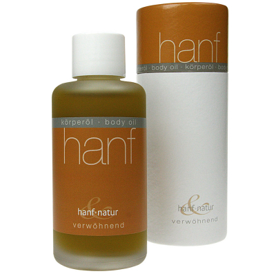 Hanf & Natur, Hemp Body Oil, Indulging, 100γρ