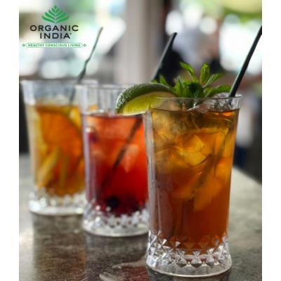 Organic India, Τσάι Peppermint Με Τούλσι, Χωρίς Καφεΐνη, 25 Φακελάκια