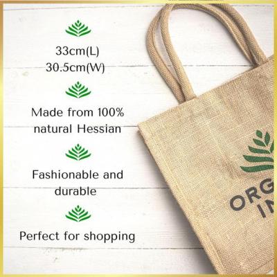 Organic India Hessian Jute Bag