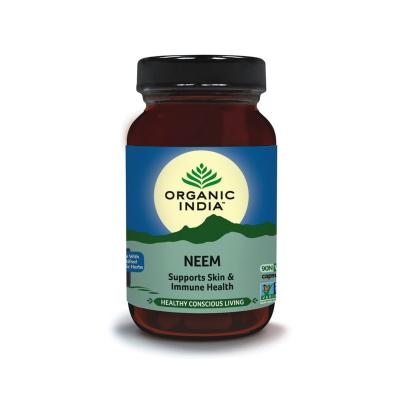 Organic India, Neem 90 Capsules Bottle