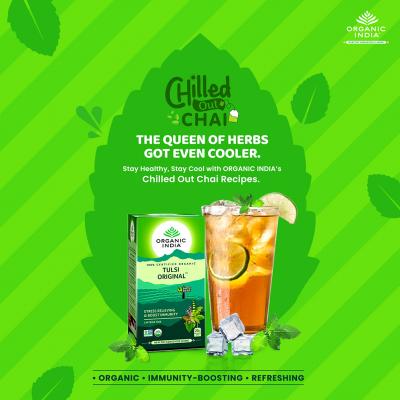 Organic India, Τσάι Original Με Τούλσι, Χωρίς Καφεΐνη, 25 Φακελάκια
