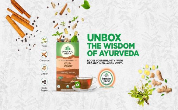 Τα Προϊόντα της Organic India είναι τώρα διαθέσιμα σε Ελλάδα και Κύπρο