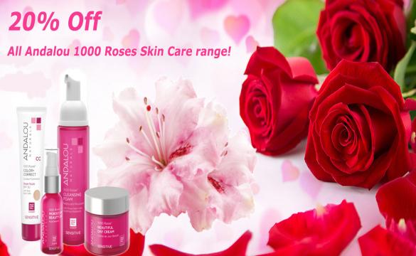 Κάνε μία στάση και μύρισε τα τριαντάφυλλα με τη cruelty free & Vegan σειρά περιποίησης δερματος 1000 Roses Skin Care.